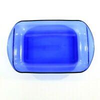 Anchor Hocking Cobalt Blue Glass Baking Dish 9 x 13 Rectangle Casserole