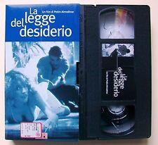 LA LEGGE DEL DESIDERIO [vhs, L'Unità, 1987, 98']