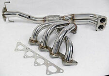 OBX Exhaust Header 97 98 99 00 01 Mitsubishi Mirage LE 1.8L 4G93 Stainless Steel