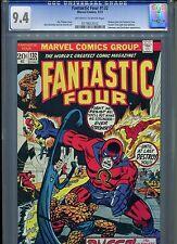 Fantastic Four #132 CGC 9.4 (1973) Inhumans Quicksilver Medusa Joins the FF