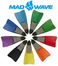 Mad Wave Swim Fins - Long Blade. Childrens to Adult Sizes