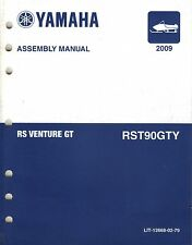 2009 YAMAHA SNOWMOBILE RS VENTURE GT ASSEMBLY MANUAL LIT-12668-02-79 (421)
