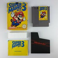 Super Mario Bros. 3 - Nintendo/NES(PAL) - Complete w/Manual - Damaged box