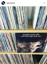 🐕James Taylor LP Never Die Young 1988 Columbia Records (Sealed)🐶**🆓Shipping**