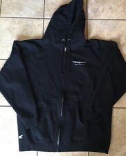 Honda Goldwing Sweatshirt Hoodie XL Black Full Zip
