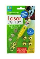 Laser Light Key Chain Toy for Cats