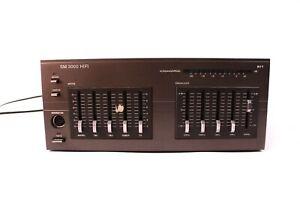 RFT SM 3000 HiFi Mixer Equalizer Stereo TA Tuner TB1 TB2 Mikrofon Grau DDR