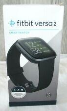 Fitbit Versa 2 Health Fitness Smartwatch w/ Heart Rate Black