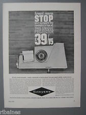 R&L Ex-Mag Advert: Sawyer's Slide Viewers and Projectors / Solar Colour Viewer