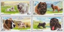 2015 Russia Dogs South Russian shepherd Caucasian shepherd Central Asian s MNH
