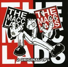 The Macc Lads - Beer & Sex & Chips N Gravy / Bitter Fit Crak [New CD] Rmst, With