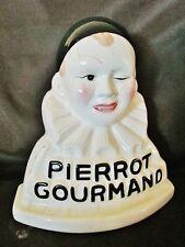 présentoir à sucettes Pierrot Gourmand-céramique-clin d'oeil-boulangerie-métier