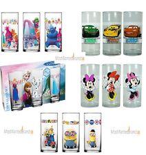 Gläser Set 3er * Minions, Minnie Mouse, Eiskönigin, Cars, Trolls etc. Glas