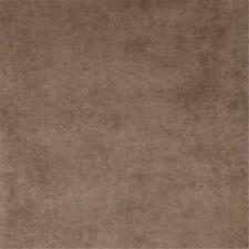 Designer Fabrics D231 54 in. Wide Taupe Brown Solid Woven Velvet Upholstery F.