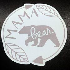 Mama Bear Arrows Mint - Sticker