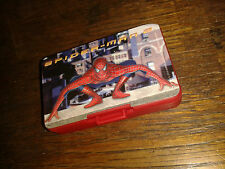 * Nintendo GameBoy Advance SP GAME CASE - RED - SPIDERMAN 2  * NEW RARE