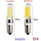 Dimmable G4 G9 E14 8/10W Silicone Crystal LED Corn Bulb SpotLight Lamp 110V 220V