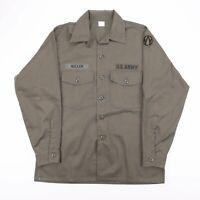 Vintage US AIR FORCE OG 507 Durable Press Utility Shirt Size Men's Large