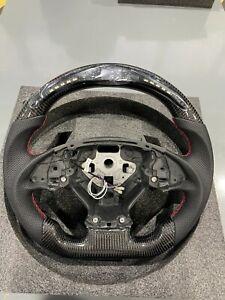 New LED professional Chevrolet Corvette C7 carbon fiber steering wheel 2014-19