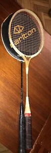 Two Vintage Badmington Rackets