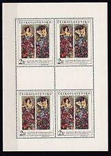 Postfrische Briefmarken aus Tschechien & der Tschechoslowakei mit Kunst-Motiv