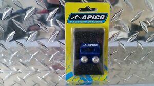 APICO FRONT BRAKE HOSE CLAMP 2005-2008 YZ125 YZ 250 2005-2008 YZF 250 YZF 450