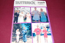 Butterick Vintage Pattern # 3569 - Fashion Doll Barbie & Ken Clothes - (A)