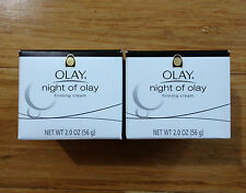 2 OLAY Night of Olay Firming Cream / Creme / Lotion in the 2.0 oz Jar Firm NEW