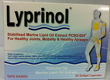 Lyprinol® PCSO-524® 100 capsules New Zealand Green Lipped Mussel extract