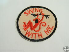 Monkey Patch Swing With Me Patch