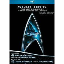 Star Trek: The Next Generation Motion Picture Collection [Blu-ray] *NEW*