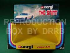 Corgi #320 The Saint Jaguar XJS - Reproduction Box by DRRB