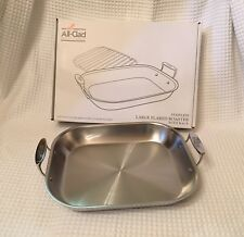ALL CLAD All-Clad Stainless Steel Large Flared Roaster Roasting Pan $360