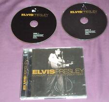 ELVIS PRESLEY - CONCERT ANTHOLOGY 1954 - 1956 - 2 CD SET - BOOKLET- UK - VG+