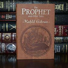 New Prophet Other Writting by Kahlil Gibran Illustrated Deluxe Leather Feel Gift