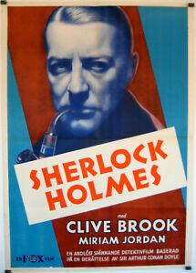 Sherlock Holmes - 1932 - Clive Brook Reginald Owen Howard Pre-Code Drama DVD