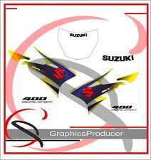 Suzuki DRZ400 DRZ 400SM Replica Decals Stickers Full Set  Design 2014 Model