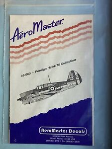 AeroMaster 48-060 Foreign Hawk 75 Collection