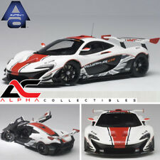 AUTOART 81541 1:18 McLAREN P1 GTR (GLOSS WHITE/RED STRIPES) SUPERCAR