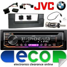 BMW X5 E50 JVC Bluetooth CD MP3 USB iPod Car Stereo Steering Interface Kit