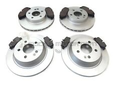 MERCEDES VITO 2004-2014 FRONT & REAR BRAKE DISCS + PADS SET ( BREMBO CALIPER )