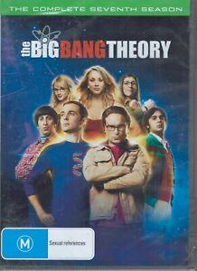 THE BIG BANG THEORY Complete 7th Seventh Season 7 (3 x DVD Set) NEW & SEALED