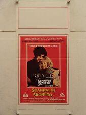 SCANDALO SEGRETO! drammatico regia Monica Vitti locandina orig. 1990
