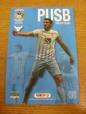 18/10/2016 Coventry City v Oxford United  . Thanks for viewing this item, buy wi