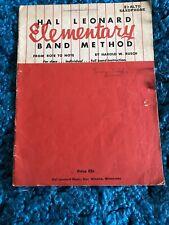 Hal Leonard Ele 00004000 mentary Band Method Alto Saxophone