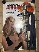 'SKYSCRAPER' ROLLED ORIG 1SH MOVIE POSTER ANNA NICOLE SMITH 27 X 40