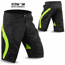 Mens Cycling MTB Short Off Road Cycle Bicycle Downhill Unisex Shorts M to XXL