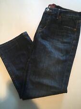Lucky Brand Women's Medium Wash Sweet N Crop Denim Jean Capri Pants Size 6/28