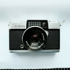 Olympus Pen D F-Zuiko 32mm F/1.9 Half Frame Film Camera with Leather Case