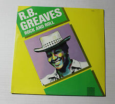 R.B. GREAVES Rock And Roll LP Intermedia QS-5032 US 1982 M SEALED 4E